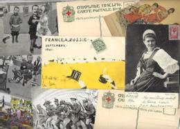 Lot 2151 De 10 CPA Russie Russia Dont Croix Rouge Red Cross  Déstockage Pour Revendeurs Ou Collectionneurs - Cartes Postales
