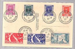 1937 Exposition (616) - Maximumkarten