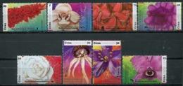 Cuba 2017 / Flowers Orchids Roses MNH Flores Orquideas Rosas Fleurs Blumen / Cu5605  36-58 - Orquideas