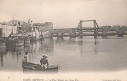 Tunisie Vieux Bizerte Le Pont Tounis Au Vieux Port - Tunesien