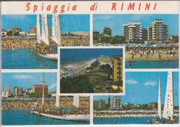 Spiaggia Di  RIMINI  Viste Diverso  NV - Rimini
