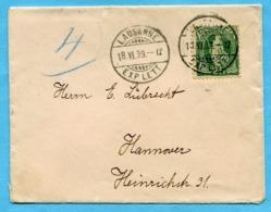 Brief Von Lausanne Nach Hannover 1899 - Lettres & Documents
