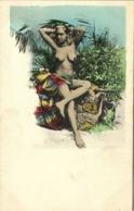 Ceylon, Beautiful Native Nude Woman (1910s) Postcard - Sri Lanka (Ceylon)