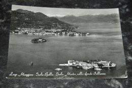 6950    LAGO MAGGIORE, ISOLA BELLA, ISOLA MADRE, NELLO SFONDO PALLANZA - Italia