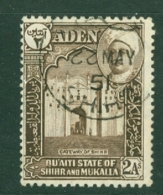 Aden - Hadhramaut: 1942/46   Sultan   SG5   2a       Used - Aden (1854-1963)