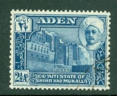 Aden - Hadhramaut: 1942/46   Sultan   SG6   2½a       Used - Aden (1854-1963)