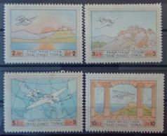GREECE 1926 - MLH - Sc# C1, C2, C3, C4 - Grecia