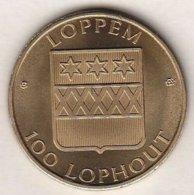 100 LOPHOUT 1984 LOPPEM KASTEEL LO - Tokens Of Communes