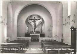 W4727 San Godenzo (Firenze) - Castagno D'Andrea - Chiesa Di San Martino - Il Cristo Di Annigoni / Viaggiata 1970 - Italia