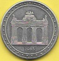 100 MICHEL 1982 BRUXELLES NOTRE CAPITALE - Tokens Of Communes