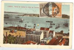 PORTUGAL Postcard To Canada 1926 30C Ceres Wit Cliche XXIV- (pt10) - Variétés Et Curiosités