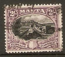 MALTA 1926 2s SG 168 FINE USED Cat £29 - Malta (...-1964)