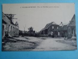 59 - Villers Outréaux - Place Du Petit-Riez Après La Libération - Autres Communes