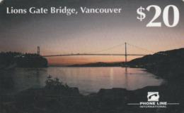 Canada - PTI - Lions Gate Bridge - Canada