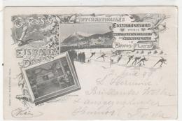 Weltmeisterschften Im Eisschnellauf Auf Der Eisbahn Davos - 1899           (90901) - Deportes De Invierno
