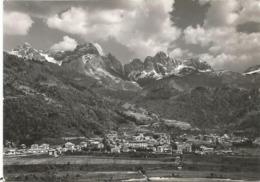 W4730 Agordo (Belluno) - Dolomiti - Panorama Col Gruppo San Sebastiano / Viaggiata 1965 - Italia