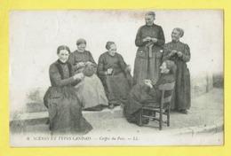 * Landes (Dép 40 - Landes - France) * (LL, Nr 6) Scènes Et Types Landais, Coiffes Du Pays, Folklore, Femmes - France