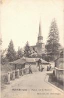 Carte Postale ANCIENNE  De  SAINT - FARGEAU / Eglise Vue De Bourneuf - Saint Fargeau