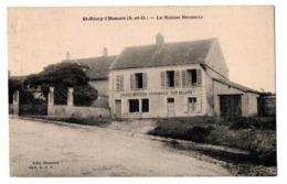 SAINT REMY L HONORE LA MAISON BESSOULE EPICERIE MERCERIE CAFE BILLARD - Autres Communes