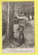 * Landes (Dép 40 - Landes - France) * (M.D. - Marcel Delboy, Nr 32) Type Landais, Résinier Au Travail, Les Pins, Arbre - France