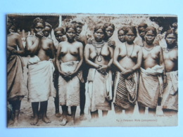 CPA Indochine - Femmes  Moïs (campement) Seins Nus - Viêt-Nam