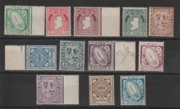 Irlande 1922  Série Courante 40-51 12 Val ** MNH - Nuovi
