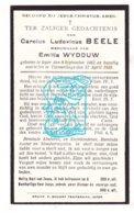 DP Carolus L. Beele ° Ieper 1863 † Vlamertinge 1935 X Emilia Wydouw - Imágenes Religiosas