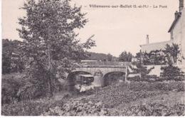 VILLENEUVE SUR BELLOT(ARBRE) - France