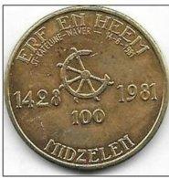 100 MIDZELEN 1981 - Tokens Of Communes