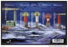 2003 Finland  Michel Block 31 Lighthouses MNH **. - Finland