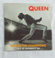 We Are The Champions Live At Wembley'86 Queen - Rock