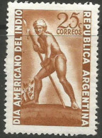 Argentina - 1948 American Indian Day MNH **   Sc 576 - Argentina