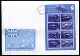 Tuvalu 2006 WWF Pygmy Killer Whale Fish Marine Life Animal Sc 1022e M/s FDC # 15198 - FDC