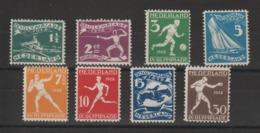 Pays Bas 1928  JO D'Amsterdam 199-206 8 Val ** MNH - Summer 1928: Amsterdam