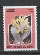 Benin 2000**, Freimarken Mit Überdruck, Sukkulente Lithops / Benin 2000, MNH, Definitives With Overprint, Succulent - Sukkulenten
