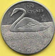 100 CYGNES 1982 LAVAUS-ST. ANNE - Tokens Of Communes