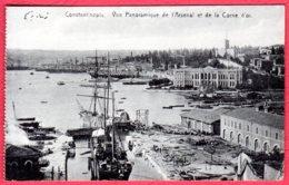 CONSTANTINOPE - Vue Panoramique De L'arsenal Et De La Corne D'Or - Turquie