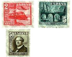 Ref. 84312 * MNH * - SPAIN. 1948. CENTENARY OF THE RAILWAYS . CENTENARIO DEL FERROCARRIL - Eisenbahnen