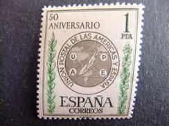 ESPAÑA ESPAGNE 1962 Union Postal De Las Americas Edifil 1462 ** MNH Yvert 1133 ** MNH - 1961-70 Unused Stamps