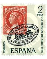 Ref. 84766 * MNH * - SPAIN. 1970. WORLD DAY OF THE STAMP . DIA MUNDIAL DEL SELLO - Eisenbahnen