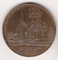 100 SULREN 1982 ST. VINCENTIUSKERK - Tokens Of Communes