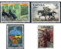 Ref. 84971 * MNH * - SPAIN. 1976. POSTAL SERVICE . SERVICIO POSTAL - Eisenbahnen