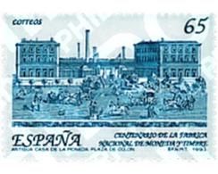 Ref. 85446 * MNH * - SPAIN. 1993. CENTENARY OF THE POSTAGE AND MINT FACTORY . CENTENARIO DE LA CREACION DE LA FABRICA NA - Dogs