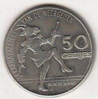 50 GEITJES 1982 5é KARNAVALSTOET VAN DE NEERGEITEN WILRIJK - Tokens Of Communes