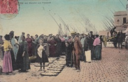 [34] Hérault > Sete (Cette) Le Marché Aux Poissons Colorisée - Sete (Cette)
