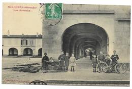 33-SAINT-LOUBES-Les Arceaux...1909  Animé - Francia
