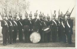 Carte-photo OLIVET (Loiret) : Musique Militaire - Années 20. - Frankreich