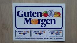Aufkleber-Set Aus Deutschland Mit Werbung Für Eine Margarine (RAMA) (1982) - Autocollants