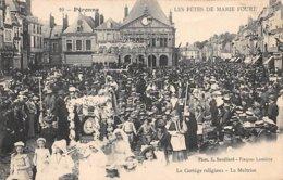10 . N° 103276 .peronne .les Fetes De Marie Foure .le Cortege Religieux .la Maitrise . - France
