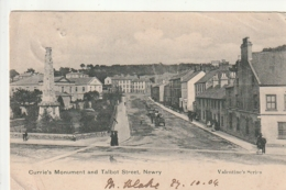 ***  IRLAND  ***  Currie's Monument And Talbot Street Newry -- STAMPED - Other